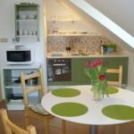 Dům č.35 - kuchyň a jídelna
