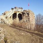 Hrad Kumburk, 2km od chalupy