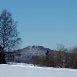 Kumburk v zimě