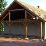 Štít bude dřevěný