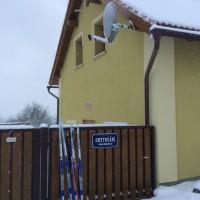 Dům č.35 pod sněhem