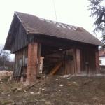 Ze stodoly bude krásný výhled na Český ráj